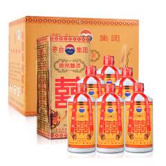 38°茅台集团贵州囍酒500ml(2003-2004年)(6瓶装)