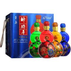 62°草原神骑手四季红礼盒 600ml*4瓶