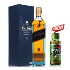 40°英国(Johnnie Walker)尊尼获加蓝牌蓝方苏格兰威士忌进口洋酒700ml