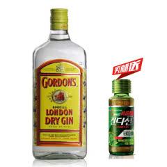 43°英国(Gordon's)哥顿金酒干味伦敦金酒 杜松子酒琴酒进口洋酒鸡尾酒750ml