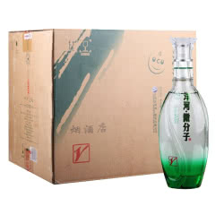 33.8°洋河微分子酒小V绵柔型白酒500ml(4瓶装)