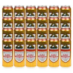 德国雪顶(Enzensteiner)原浆小麦白啤酒原装进口500ml*24听