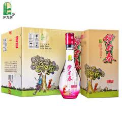 46度伊力春(红颜)500ml*6瓶整箱装伊力特浓香白酒