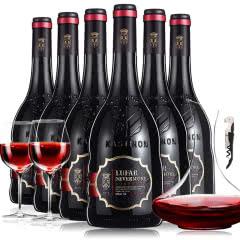 法国原瓶进口红酒波尔多AOC欧诺蒂酒庄干红葡萄酒750ml*6