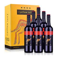 澳洲红酒黄尾袋鼠加本力苏维翁红葡萄酒750ml(6支礼盒装)