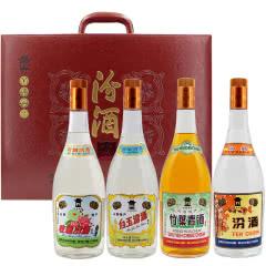 汾酒 清香四合 55°汾酒+45°竹叶青酒+40°白玉汾酒+40°玫瑰汾酒950ml*4