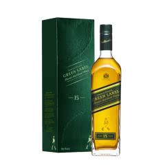 43°尊尼获加绿牌15年调配苏格兰威士忌700ml