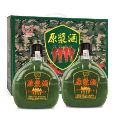 52°原浆酒军壶收藏白酒礼盒装500ml(2瓶装)