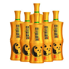 52°团圆国宝熊猫酒(藏品)500ML 浓香型白酒 *6瓶装