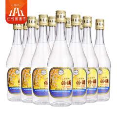 53°杏花村汾酒出口汾酒玻汾500ml(12瓶装)