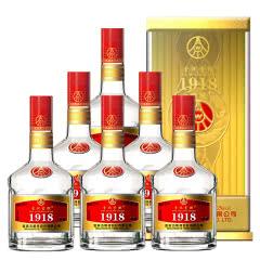 52°五粮液股份公司1918精酿酒礼盒礼品装喜酒500ml(6瓶装)