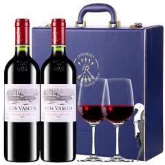 【ASC行货】拉菲巴斯克珍藏干红葡萄酒智利原瓶进口红酒礼盒装750ml*2