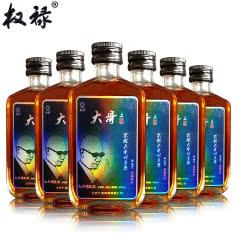 权禄42度大哥酒人参枸杞酒100ml(6瓶装)