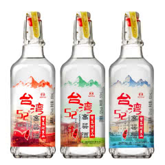 52°宝岛阿里山台湾高粱酒(高山酒)浓香风味白酒500ml*3
