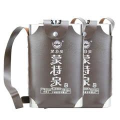 55°蒙特泉不锈钢壶内蒙古酒 清香型白酒 1500ml双瓶装
