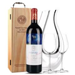 法国原瓶进口红酒 木桐古堡红葡萄酒 2008年 木桐正牌 单支 750ml