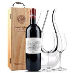 拉菲古堡干红葡萄酒 大拉菲 法国原瓶进口红酒 2014年 正牌 单支 750ml