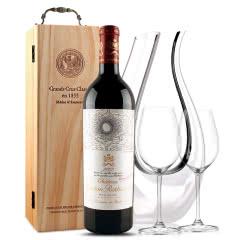 法国原瓶进口红酒 木桐古堡红葡萄酒 2002年 木桐正牌 单支 750ml