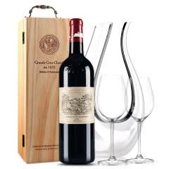 拉菲古堡干红葡萄酒 大拉菲 法国原瓶进口红酒 2009年 正牌 单支 750ml