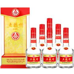 【五粮液特卖】52°五粮液五粮情浓香型白酒开窗卡盒婚宴用酒 500ml(6瓶装)