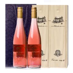 澳大利亚原瓶进口气泡酒古金桃红甜型起泡酒750ml*2