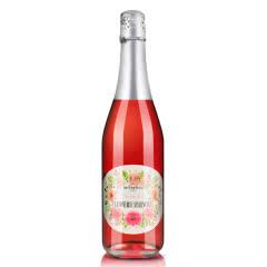 西班牙原瓶进口起泡酒Algod花季粉色香槟女士起泡酒葡萄酒750ml,买一送一
