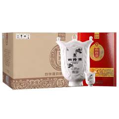 52°四特酒15年 十五年陈酿500ml(5瓶装)整箱