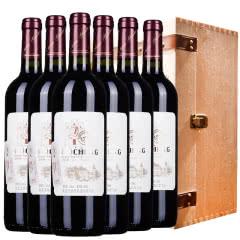 西班牙原酒进口红酒 西亚特干红葡萄酒750ml*6瓶 木箱款年货礼盒
