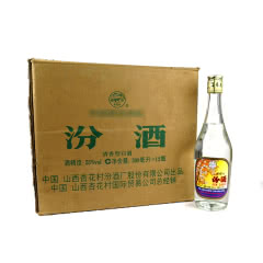 53°汾酒500ml整箱(12瓶装)(2008年)