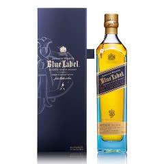 40°英国尊尼获加蓝牌(蓝方)调配苏格兰威士忌750ml
