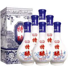 53°杏河特酿清香型白酒整箱礼盒装475ml(6瓶装)