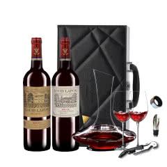 路易拉菲进口红酒 2009珍酿王子+窖藏干红葡萄酒750ml(2瓶装)