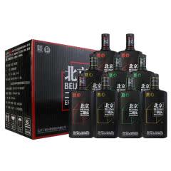 42°永丰牌北京二锅头黑瓶(三色混装)清香型500ml(9瓶)白酒整箱