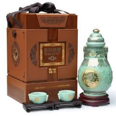 绍兴黄酒 古越龙山三十年花雕酒 30年陈酿金玉满堂 1.5L坛装礼盒