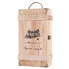 红酒双支木箱礼盒(1个装)