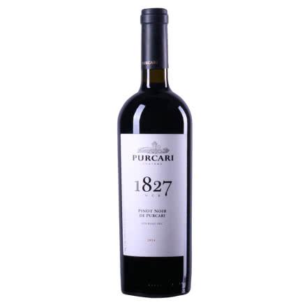 摩尔多瓦红酒原装进口干红葡萄酒1827黑皮诺 普嘉利(PURCARI)750ml 单支