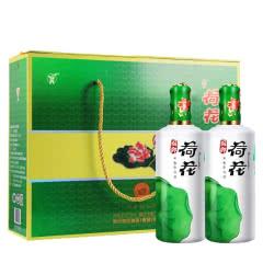 53°国乡荷花酱香型500ml*2瓶礼盒装