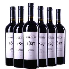 摩尔多瓦原瓶进口红酒普嘉利(PURCARI)1827梅洛干红葡萄酒750ml(6瓶装)整箱