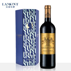拉蒙 加颂酒庄(珍选)波尔多AOC级 法国原瓶进口 干红葡萄酒 750ml