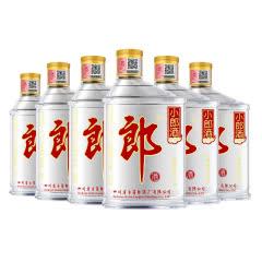 45° 郎酒 小郎酒兼香型 100ml*6瓶 非整箱发货