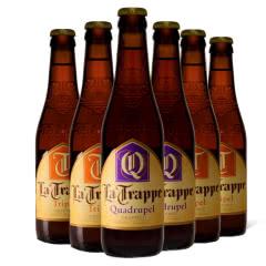 进口啤酒 荷兰修道院 La Trappe 双料三料四料啤酒组合330ml*6