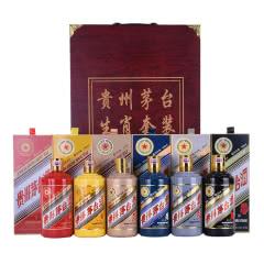 53°茅台生肖酒6件套装 马年+羊年+猴年+鸡年+狗年+猪年 500ml*6瓶装