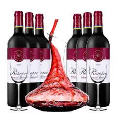 法国红酒 法国拉菲珍藏波尔多红葡萄酒750ml(6瓶装)