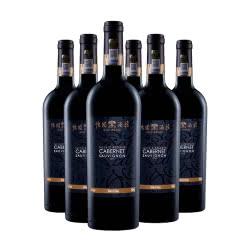 山西怡园酒庄珍藏赤霞珠干红葡萄酒2016年份750ml*6 橡木桶陈酿 国产红酒
