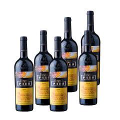 新疆特产 伊珠葡萄酒庄园珍藏2008干红葡萄酒 13度 6瓶整箱