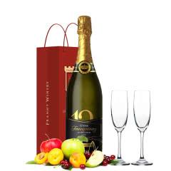 十二星品低度甜酒甜型起泡酒葡萄酒香槟气泡酒750ml(香槟杯酒具组合+礼袋)