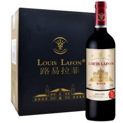 路易拉菲皇室侯爵干红葡萄酒法国进口红酒六支装750ml*6