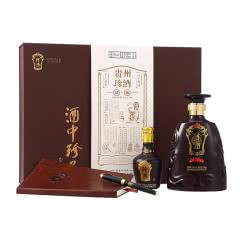 53°珍酒 珍酒故事 贵州酱香型白酒500ml+100ml礼盒装