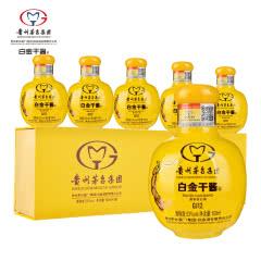 53°贵州茅台集团白金酒公司白金干酱GJ12酒100ml*5 单条礼盒装