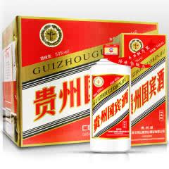 50°贵州茅台镇贵州国宾酒浓香型白酒450ml(6瓶装)